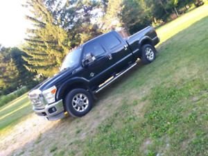 2011 ford f250 larriat offroad 4x4 loaded