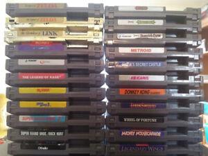 Nintendo NES games. Also SNES N64 Gamecube (updated Aug 23/19)