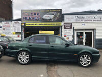 2003 JAGUAR X-TYPE 2.0i V6 SPORT 160 BHP 4 DOOR SALOON ( AA ) WARRANTED INCLUDED