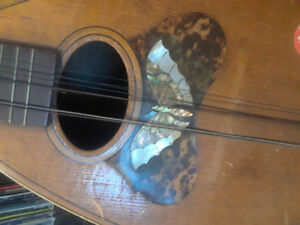 mandolin? very old instrument unknown antique vintage