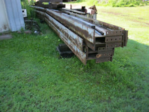 structure d'acier 40 x 100 et plus