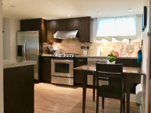 Pt Grey-UBC, Furnished Clean and bright 2 bedroom