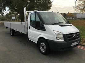 Ford Transit T350 XLWB **Extra Long** 20ft (6.1m) Dropside, Takes 6m Lengths