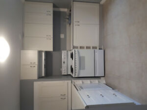 Bright 1 BR west end apt, everything included