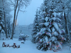 "Spend the Christmas Holidays in a true ""Winter Wonderland""!"