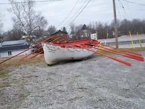 life boat and oars London Ontario image 3