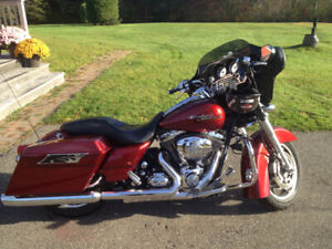 Motorcycle street glide parts 2009