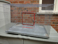 tackable Large Breeding Cage for Pets(Bird/Chick/Dog/Cat/Bunny