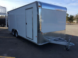 8'x20' Outlaw, All Aluminum car hauler DEMO SALE!