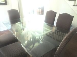 Dinning Table - Glass