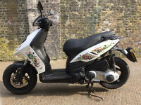 2013 Piaggio typhoon 125cc scooter learner legal 125 cc