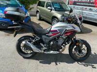 Honda CB 500 xa-j,abs,6k,givi back box,68 reg,heated grips,gear indicator.......
