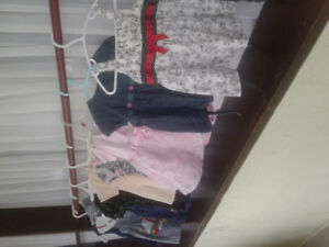 Little girl dresses 6 to 12 months