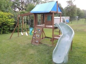 Wooden Play Structure