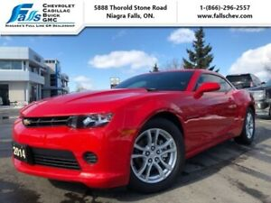 "2014 Chevrolet Camaro 1LS  V6,COUPE,MANUAL,18""ALLOYS"