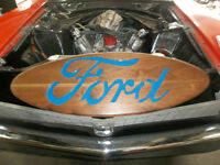 FORD hand made wooden man cave sign
