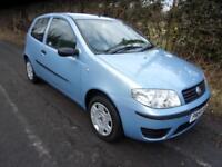 Fiat Punto 1.2 8v Active 3 Door 2004 54 PRESTON