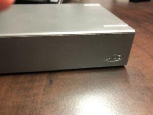 LaCie Porche Design 2TB External Hard Drive