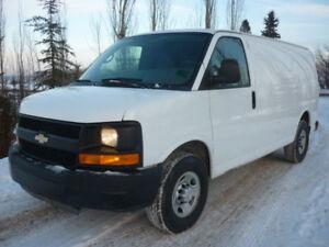 2014 Chevrolet Express 2500 Cargo Van SHELVING, LOW LOW KMS!!!