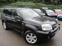 2006 NISSAN X-TRAIL AVENTURA DCI 4 X 4 DIESEL SAT NAV LEATHER SUNROOF 4X4 DIESEL