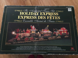 Holiday train set