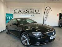 2008 58 BMW 6 Series 3.0 630i Sport 2dr **FINANCE AVALIBLE**