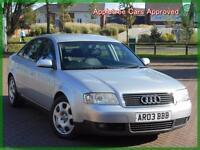 2003 (03) Audi A6 Saloon 2.5TDI 163Bhp Automatic