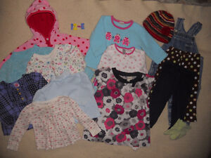 Group of Baby Girl clothes for $10 (ad 12-E)