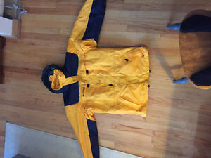 Yellow Columbia ski jacket Windsor Region Ontario image 1