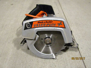 "Black and Decker 7.25"" Skill saw and 3/8"" Drill"