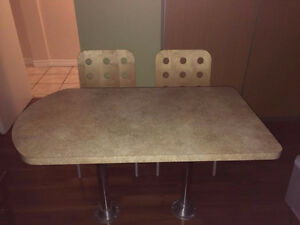 Table Top with Chairs