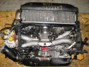 MOTEUR SUBARU IMPREZA WRX 2.0L EJ205 TURBO ENGINE 02 03 04 05