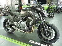 Kawasaki Z650 Metallic Flat Spark Black Brand Nw Pre Registered