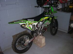 2004 Monster Energy Edition KX250F