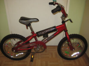 excellent 16'' NORCO in great condition new training wheels