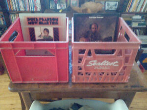 2 Milk Crates for Records
