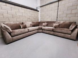Barker & Stonehouse Borelly Extra Large Modular Corner Sofa RRP-£3775