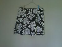 Brand new black and white skirt size 20 (George)