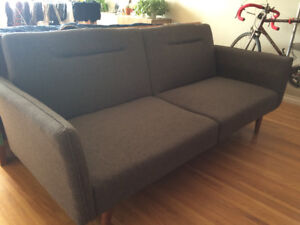 Mid- Century Modern Couch - $150