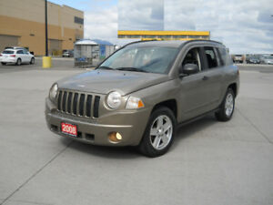 2008 Jeep Compass, 4x4, Auto, Only142000, 3/Y warranty availab