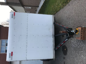Power washer with Trailer