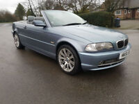 2001 '51' BMW 330 3.0 CI CONVERTIBLE - EXCELLENT SERVICE HISTORY - FULL LEATHER