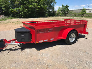 EXECUTIVE SERIES MODEL 51035  5 X 10 UTILITY TRAILER RATED # 1