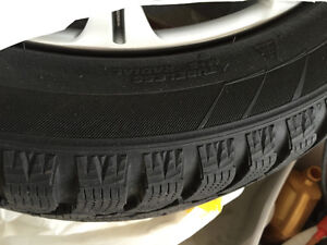 Winter tires and rims Hankook tires 225 50r17
