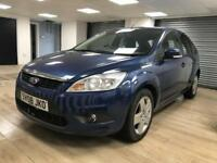 Ford Focus 1.6 Style BLUE SATNAV BLUETOOTH FULL SERV HIST WARRANTY 12 MONTHS MOT
