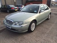 2002 ROVER 75 AUTOMATIC