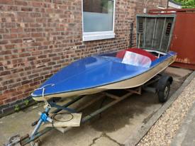 Vintage Speedboat