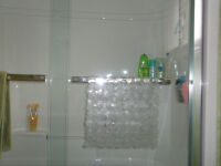 Shower Tub Door by Mirolin - Frameless - Clear - REDUCED PRICE