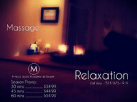MASSAGE PROMO recu d assurance disponible