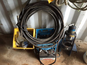FOR SALE!! Eaton ET Mechanical Crimper & Hoses London Ontario image 1